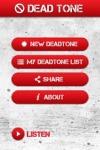 Dead Tone App screenshot 2/4