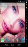 Wonderful Blue Eyes Live Wallpaper screenshot 2/2