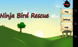 Ninja Bird Rescue screenshot 1/5