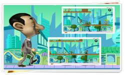 Mr Bean Run Game screenshot 1/2