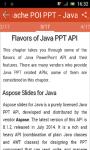 Learn Apache POI Powerpoint  screenshot 2/3