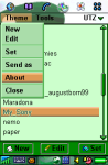 Magic Themes for P800 screenshot 1/1