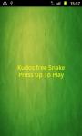 Kudos Snake FREE screenshot 1/3