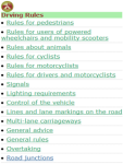 Driving Rules screenshot 2/2