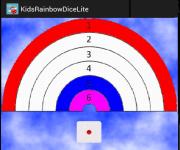 Kids Rainbow Dice Lite screenshot 1/2