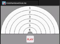 Kids Rainbow Dice Lite screenshot 2/2
