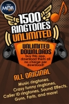1,500 Ringtones Unlimited screenshot 1/1