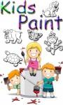 Kids Panting- Finger Paint screenshot 1/6