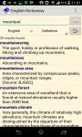 Comprehensive English Dictionary screenshot 2/3