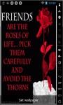 Roses Of Life Live Wallpaper screenshot 1/2