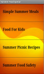Summer Food Special Tips screenshot 3/4