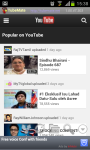 YouTube for mobile app screenshot 4/6