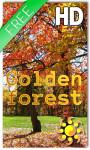 Golden Forest Live Wallpaper HD screenshot 1/2