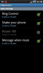 Volume Control Shake your Phone screenshot 2/2