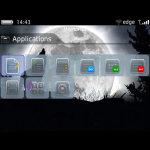 Full Moon Wolf Theme BalckBerry 9700 screenshot 4/4