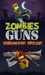 Zombies N´ Guns Halloween  screenshot 1/6