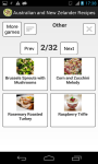 Australian and New Zealender Recipes screenshot 2/3