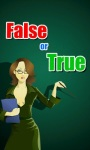 True or False Quiz Game screenshot 1/6