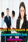 Tips To Prepare a Government Job Interview V1 screenshot 1/3