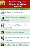 Tips To Prepare a Government Job Interview V1 screenshot 2/3