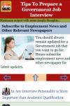 Tips To Prepare a Government Job Interview V1 screenshot 3/3