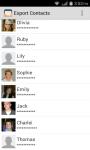 Export Contacts to Excel screenshot 1/3