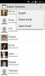 Export Contacts to Excel screenshot 2/3
