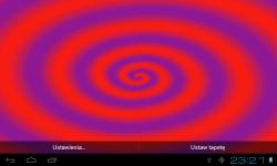 HypnoSpiral Live Wallpaper FREE screenshot 2/4