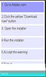 Adobe Flash Player Installation Guide screenshot 1/1