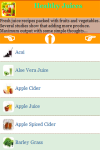 Healthy Juices screenshot 3/4