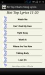 Top Charts Song Lyrics screenshot 4/5