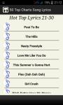 Top Charts Song Lyrics screenshot 5/5