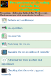 Precautions while using Cathode Ray Oscilloscope screenshot 2/3