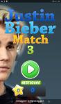 Justin Bieber Match 3 screenshot 1/2