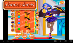 Batgirl Dress Up Game screenshot 3/4