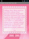 breasts Cancer screenshot 1/3