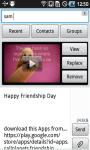 Friendship Video SMS screenshot 4/6