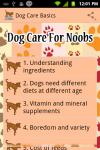 Dog Care Basics screenshot 1/3