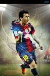 Lionel Messi Live Wallpaper Android screenshot 1/5