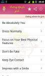 Dating Do s and Don ts app mod screenshot 1/1