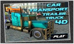 Car Transport Trailer Truck 4d screenshot 1/5