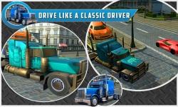 Car Transport Trailer Truck 4d screenshot 3/5
