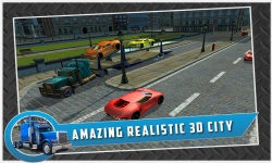 Car Transport Trailer Truck 4d screenshot 4/5