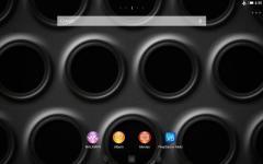 XPERIA Black Steel Theme rare screenshot 4/6