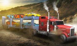 Car Transporter Flying Game 3D screenshot 1/4