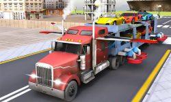 Car Transporter Flying Game 3D screenshot 3/4