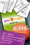 YouMagic - make calls VoIP / SIP / IP  screenshot 1/6