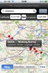 UK Postcodes & Location Finder screenshot 1/1