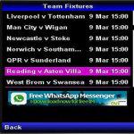 EPL Sport Fixtures screenshot 2/4