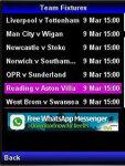 EPL Sport Fixtures screenshot 3/4